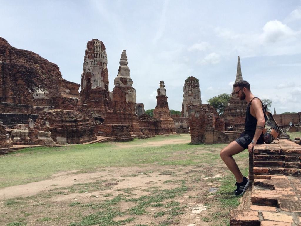 Exploring Ayutthaya