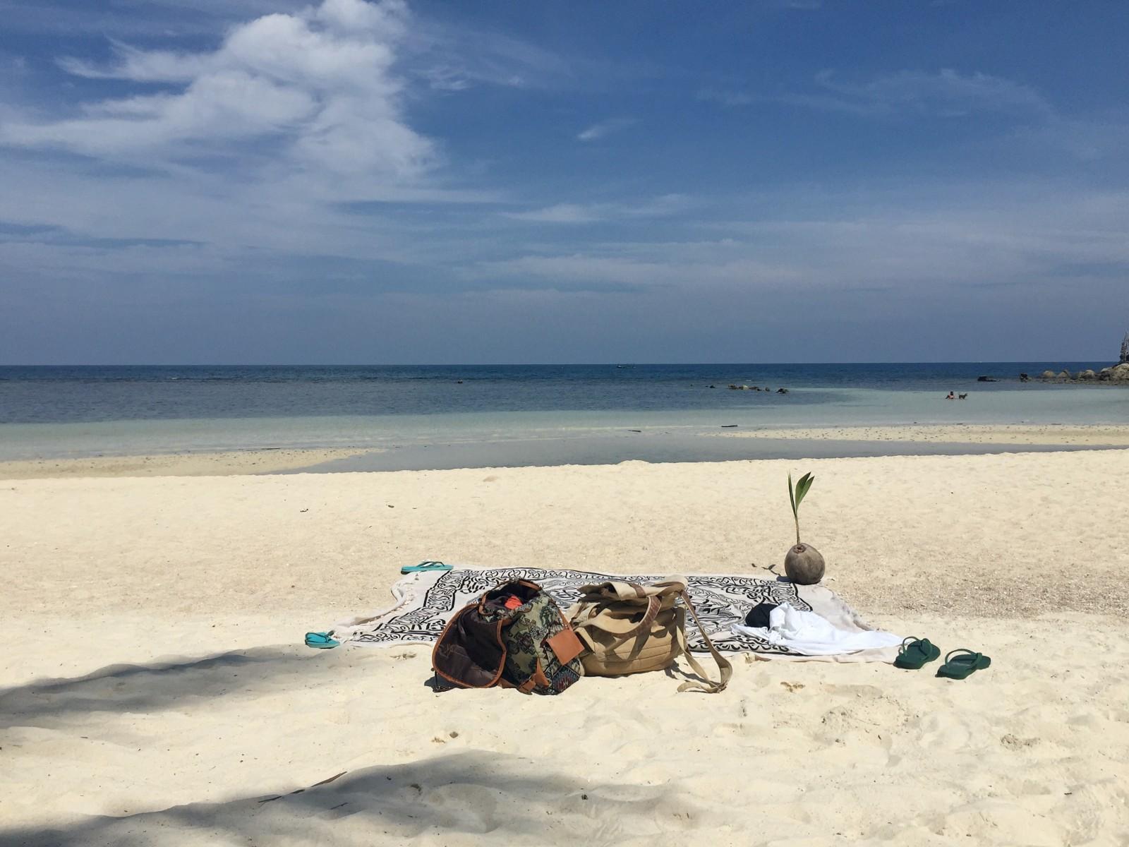 The secret beach in Koh Phangan