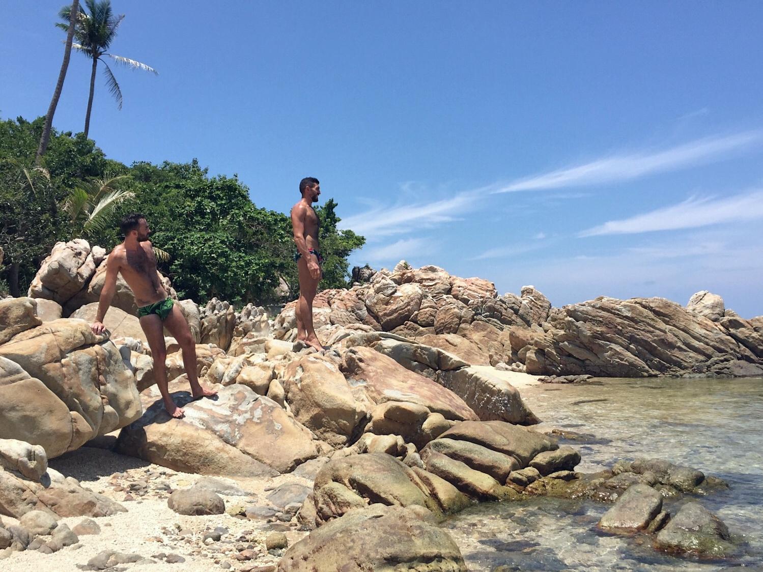 the globbers explore koh phangan