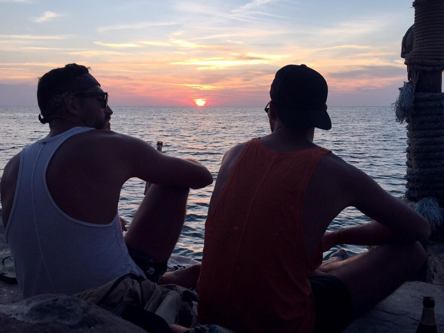 sunset point Koh Phangan