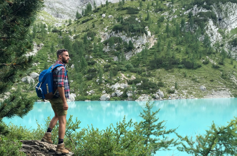 exploring around sorapis lake