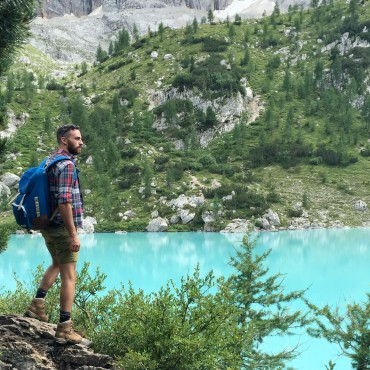 exploring around sorapis lake