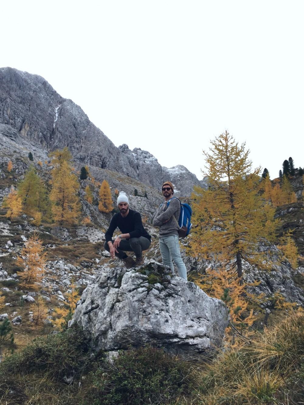 the globbers explore dolomites mountains