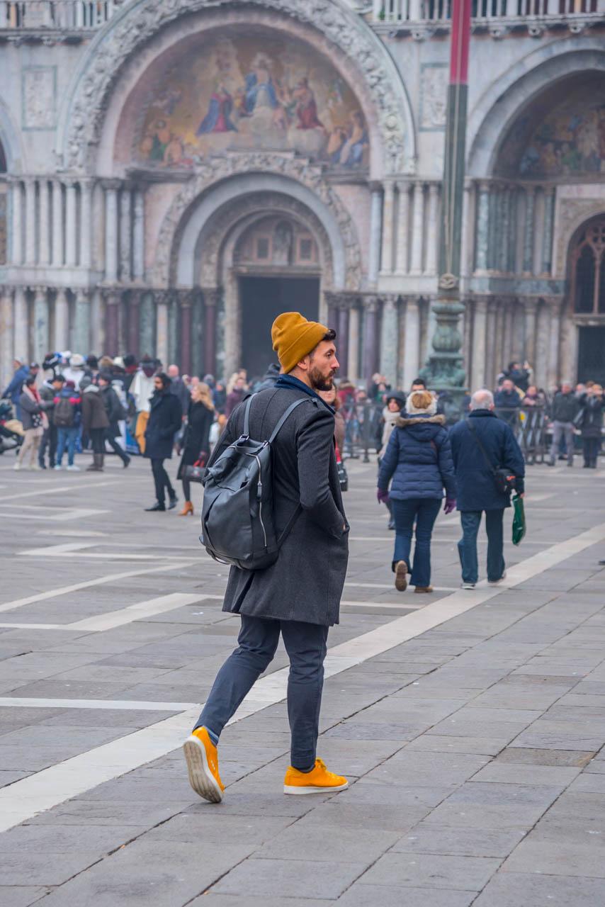 walking in piazza san marco
