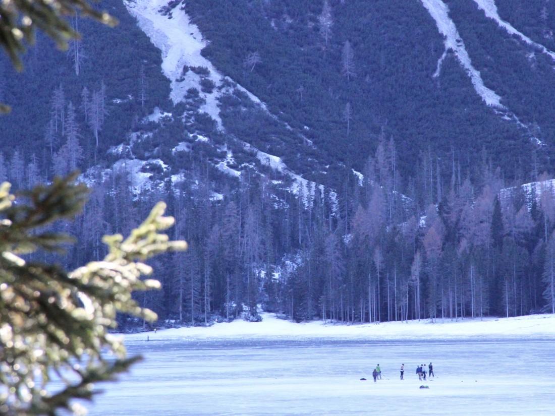 hockey on the lake