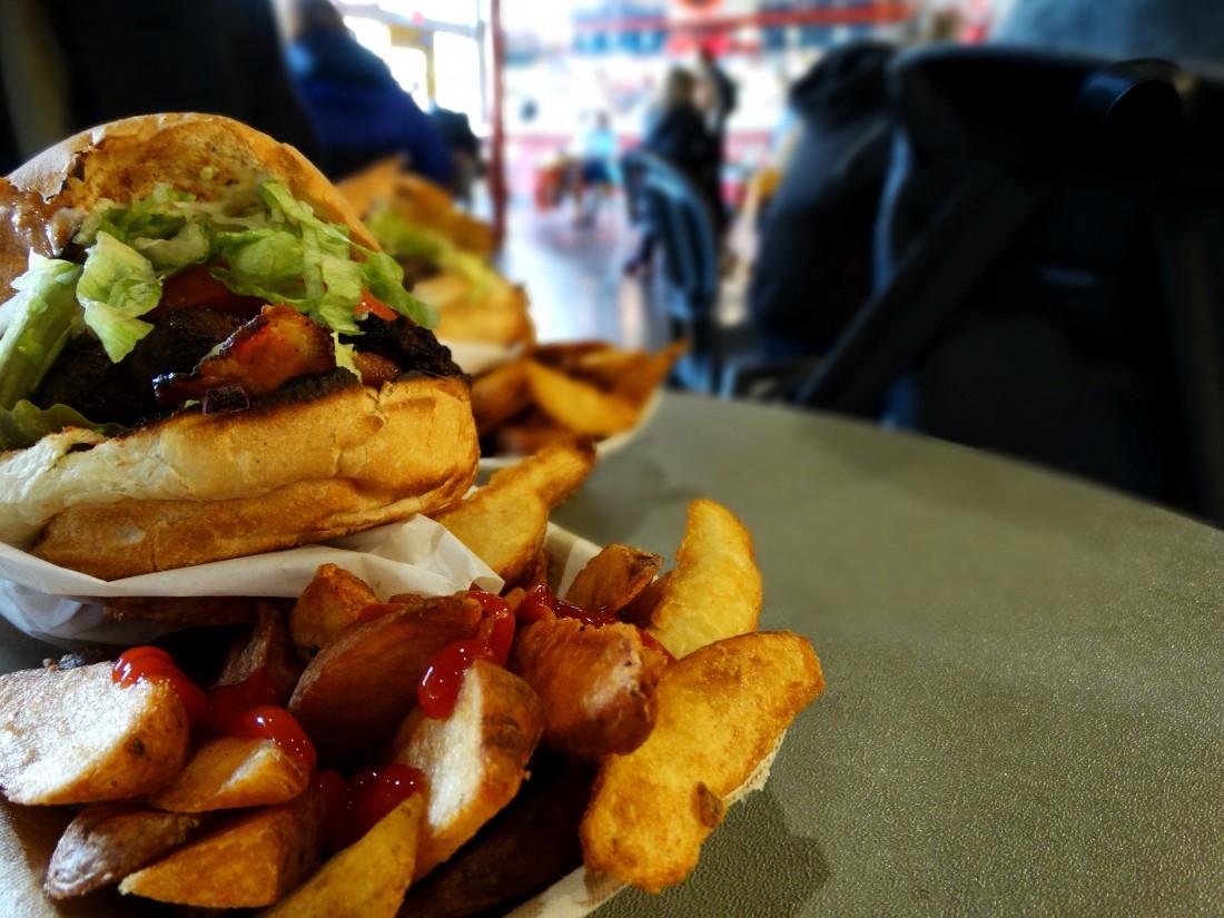 street food at public market