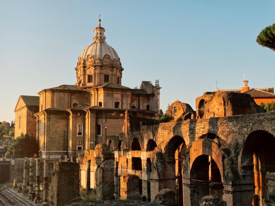 sunrise rome