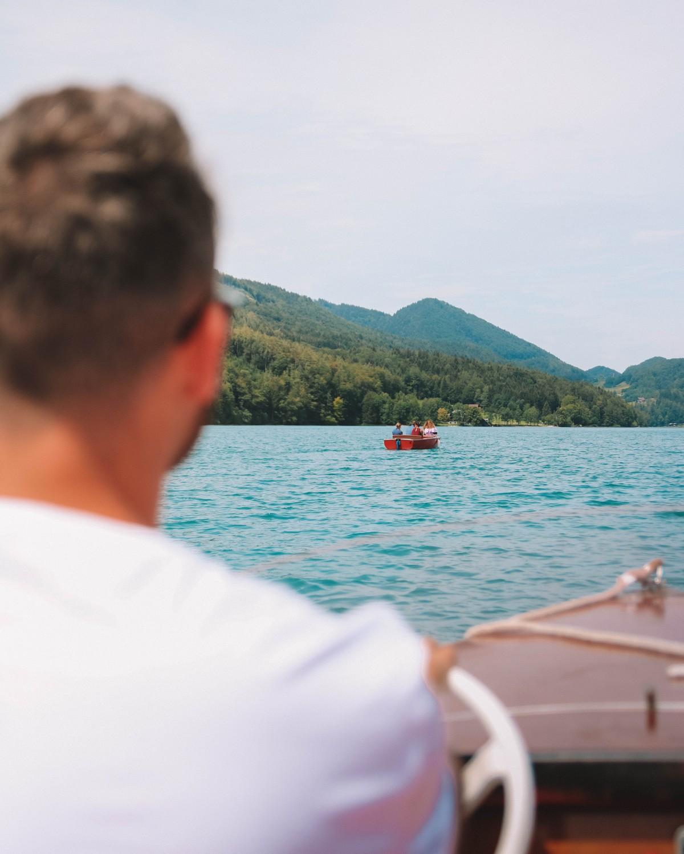 barca lago di fuschl