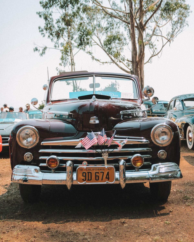 old car california