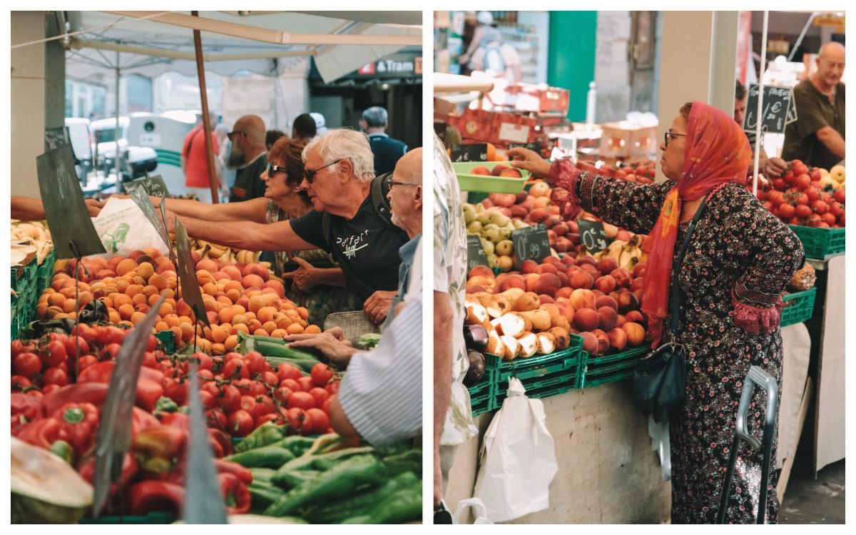 market in marseilles