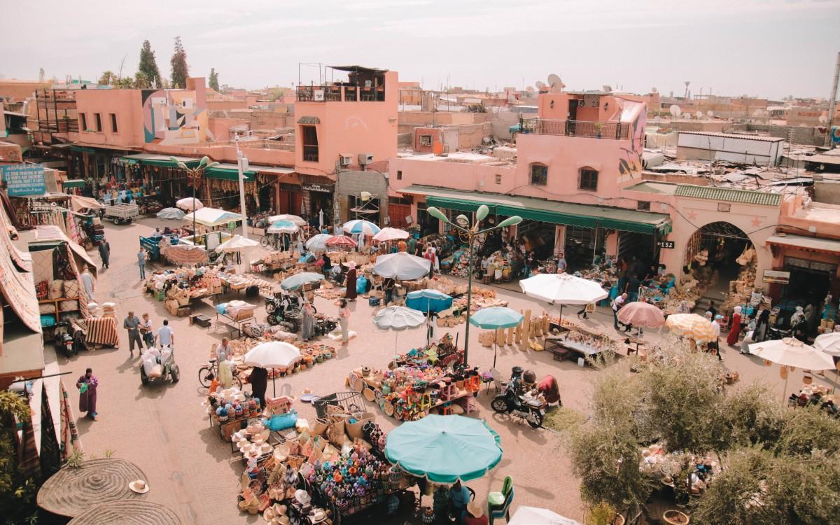 piazza delle spezie marrakech