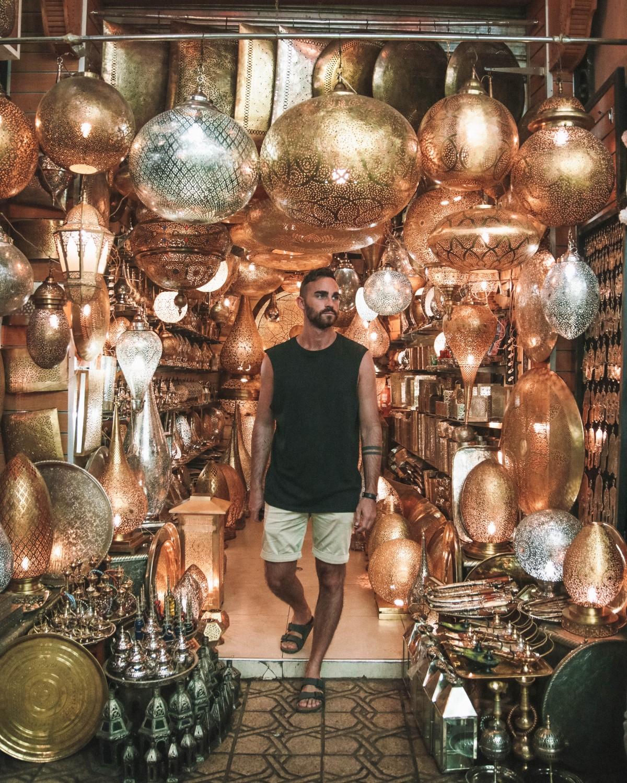 lamp marrakech