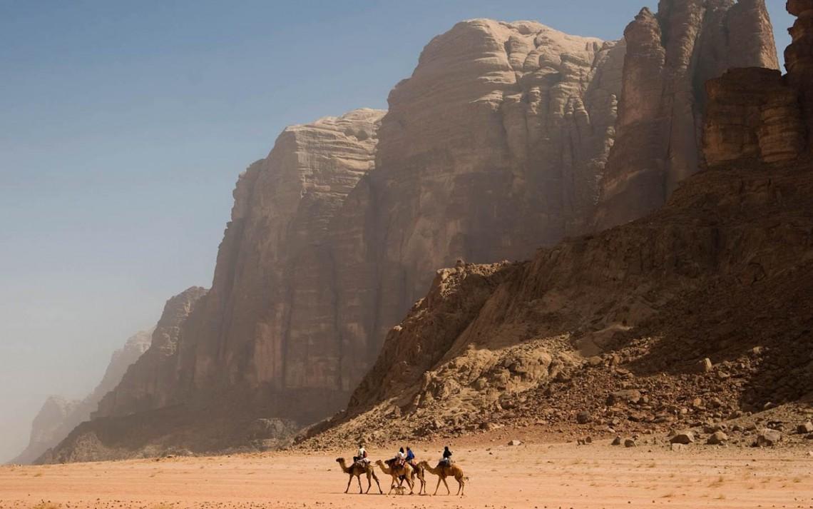 Wadi-Rum giordania