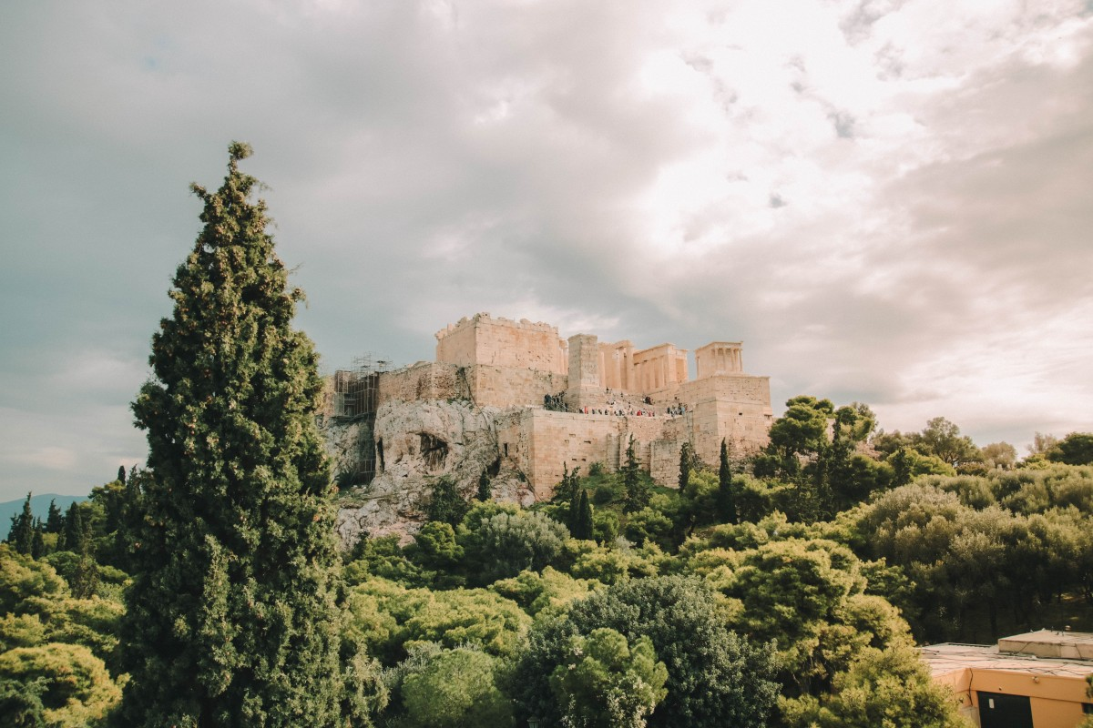acropoli atene vista