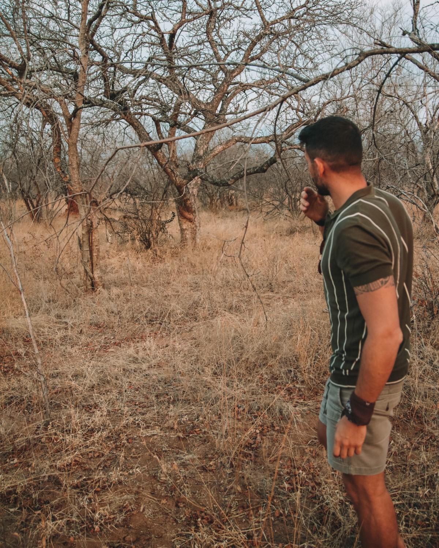 walking safari karongwe