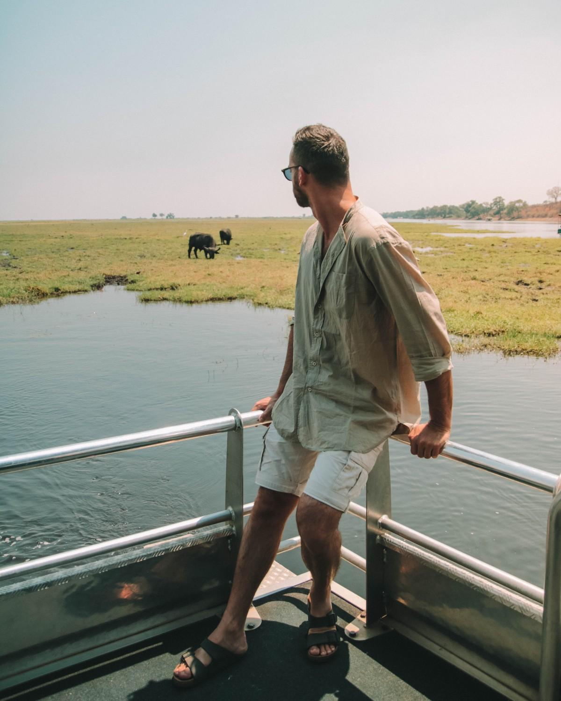 boat safari chobe
