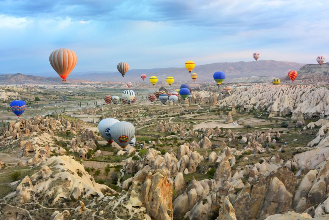 cappadocia mongolfiere turchia the globbers