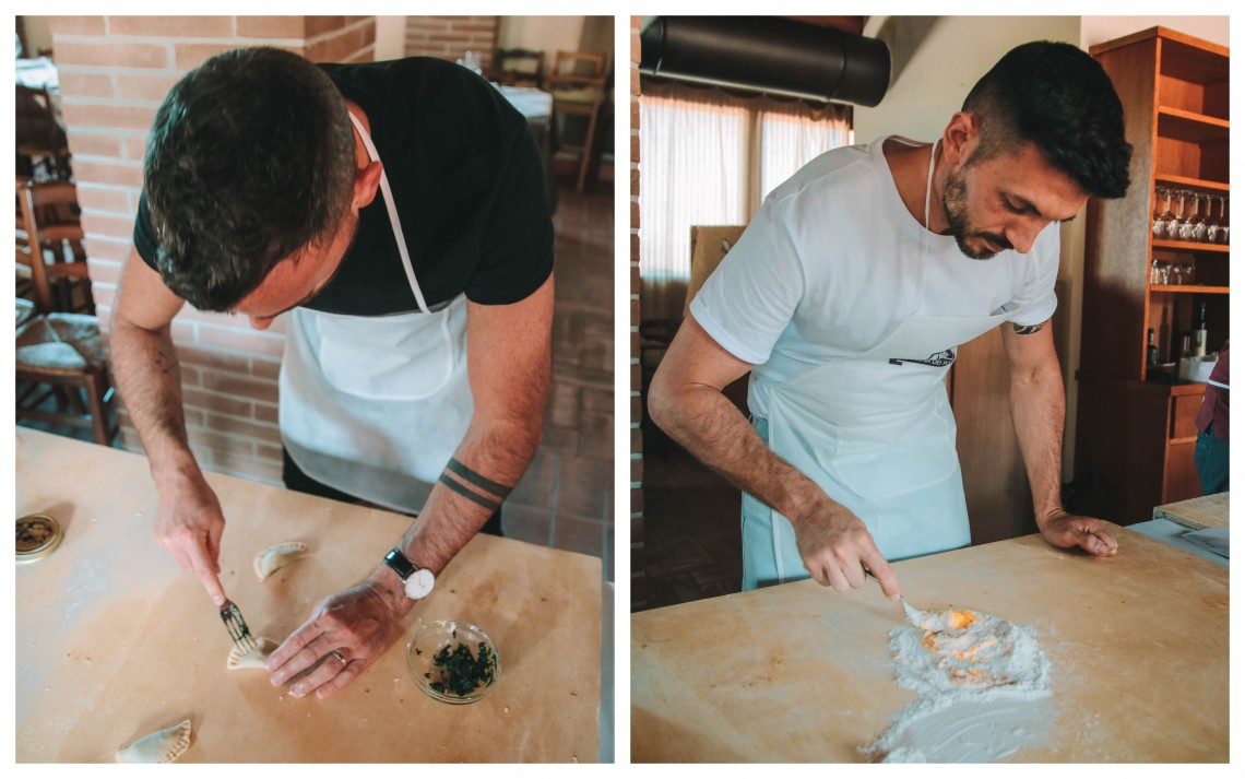 cooking class romagnola the globbers