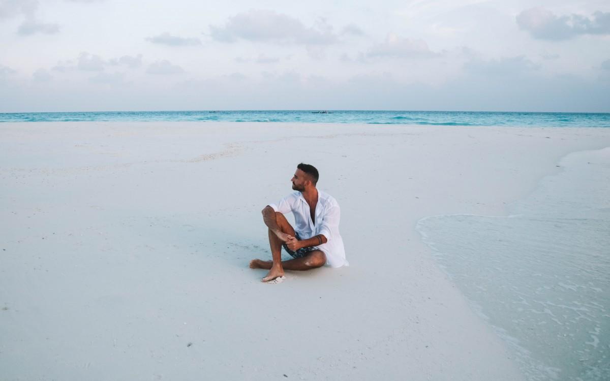 soneva fushi sand bank