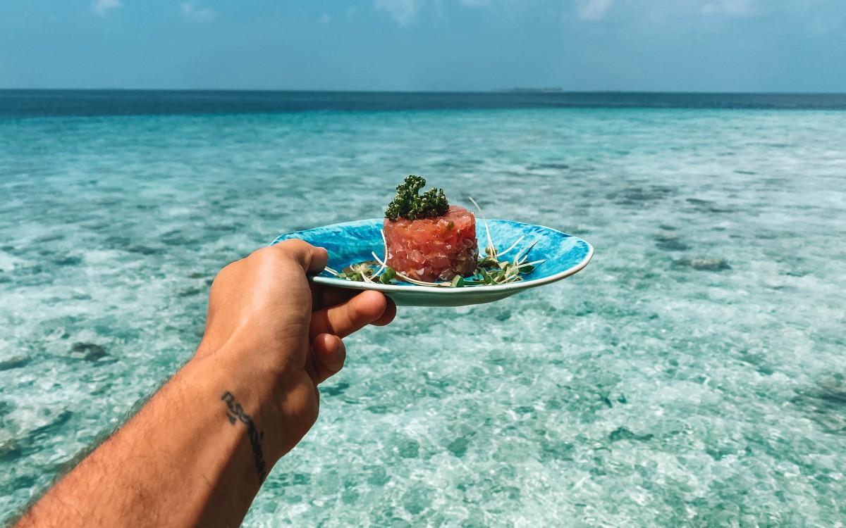 soneva fushi food