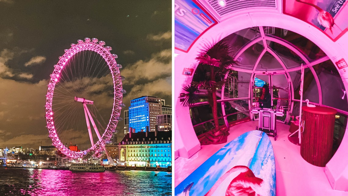 london eye lastminute partnership