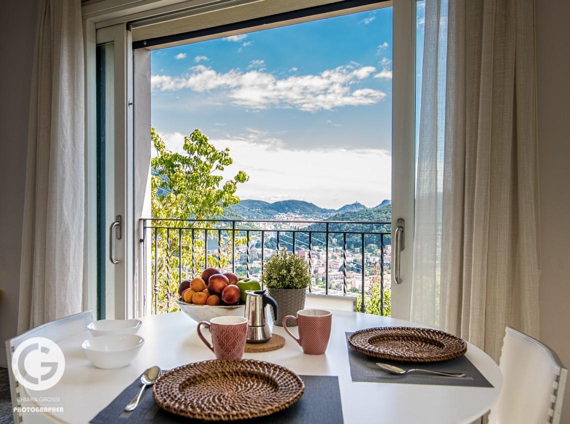 my home in como - cucina villa benedetta