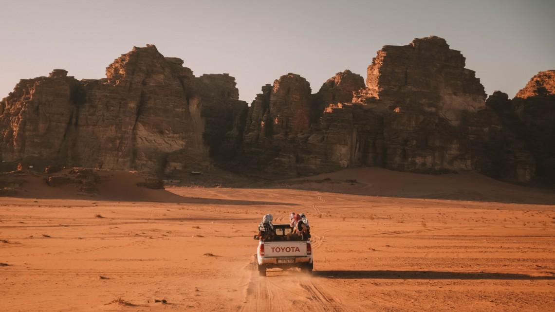 jeep ride wadi rum