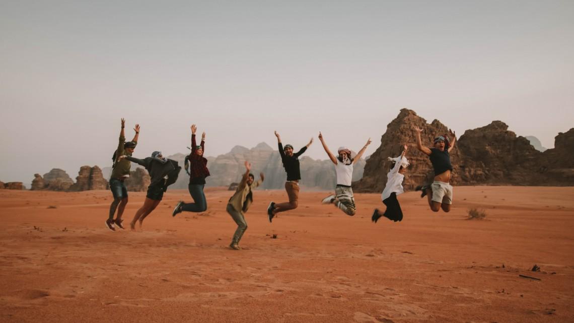 wadi rum travel group the globbers