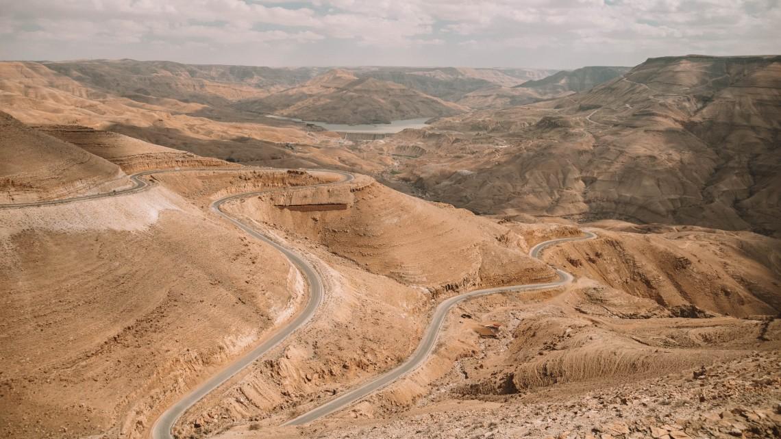 la strada dei re giordania