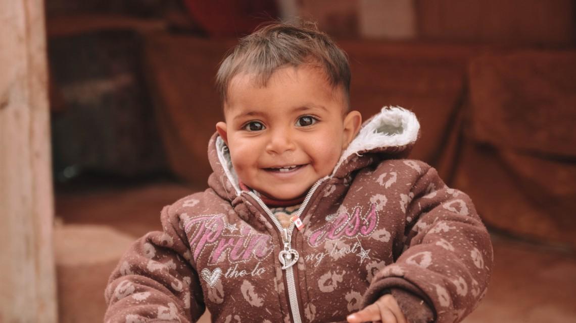 bambina giordana