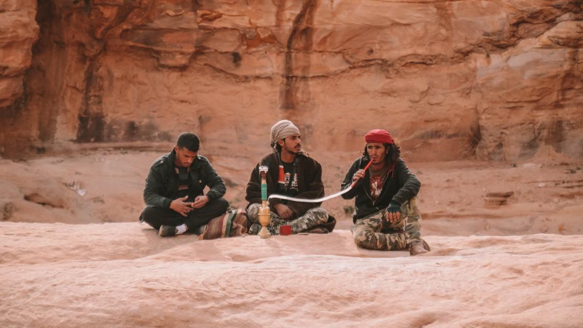beduini petra