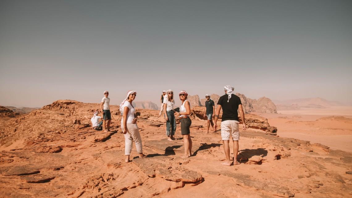 gruppo the globbers giordania