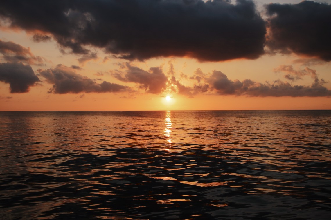 tramonto a salina