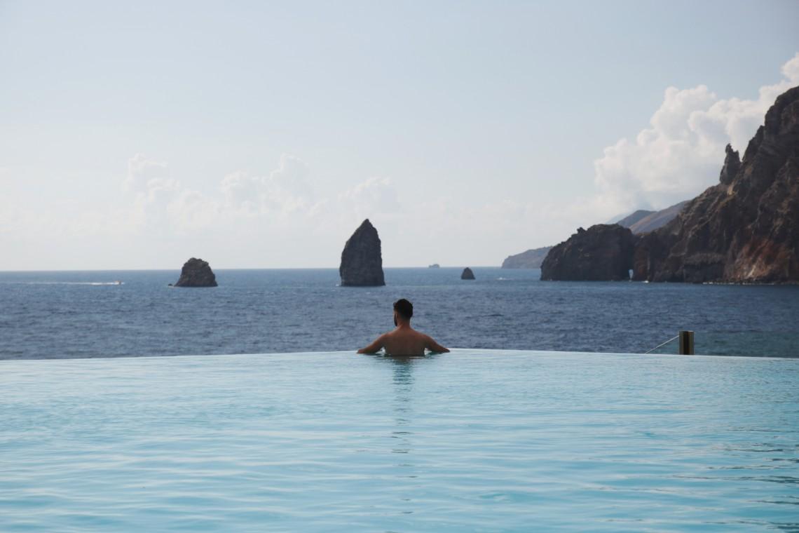 therasia resort infinity pool