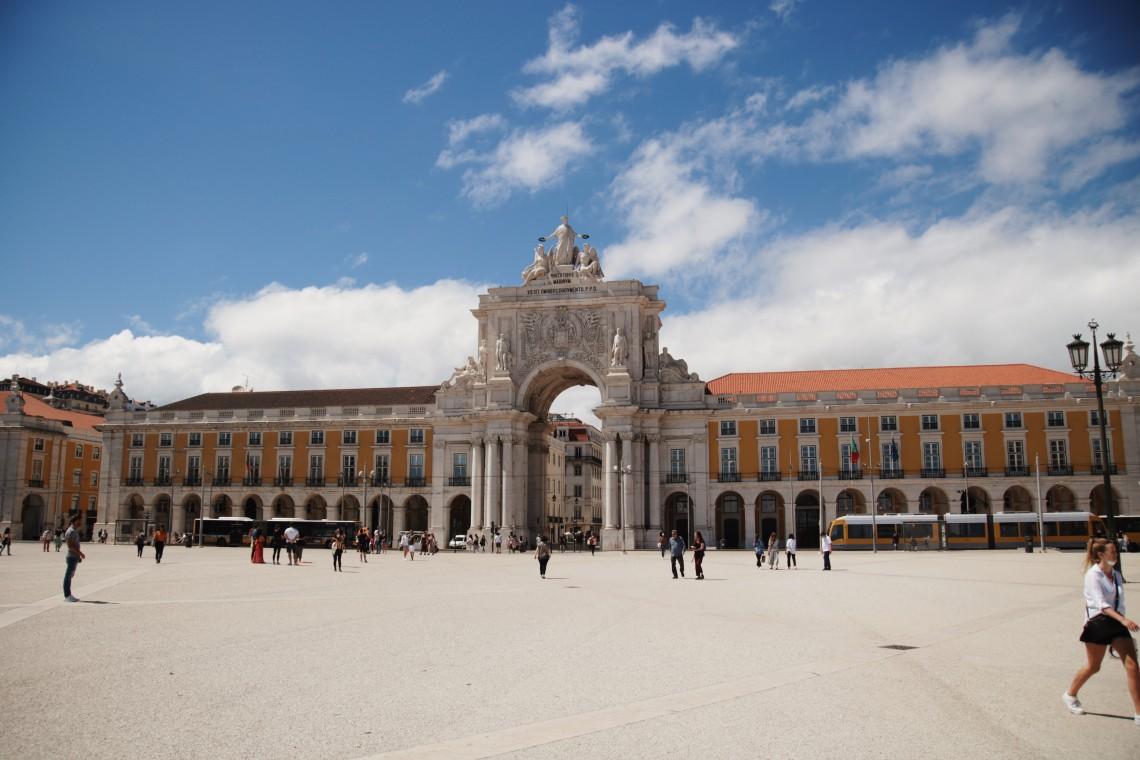 Praça do Comércio lisbona
