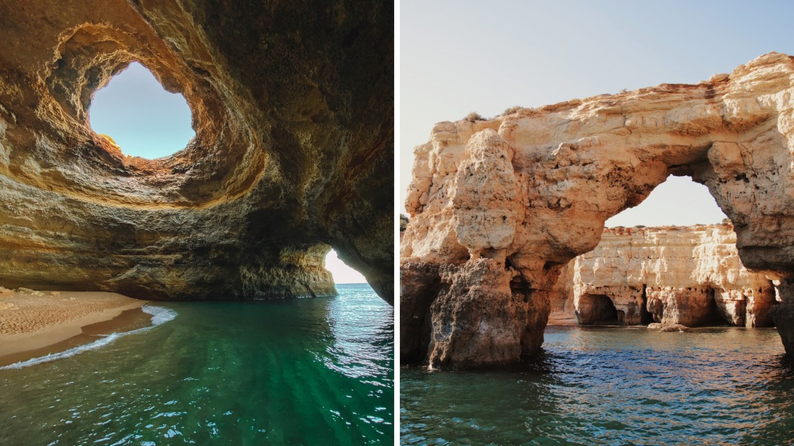 Grotta di Benagil algarve